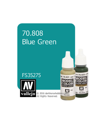 Vallejo Model Color: Blue Green (17ml)