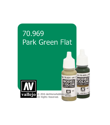Vallejo Model Color: Park Green Flat (17ml)