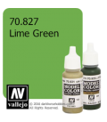 Vallejo Model Color: Lime Green (17ml)