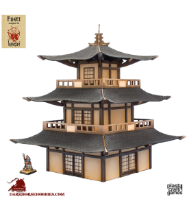 28mm Kensei Terrain: Pagoda