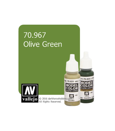 Vallejo Model Color: Olive Green (17ml)