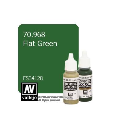 Vallejo Model Color: Flat Green (17ml)