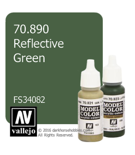 Vallejo Model Color: Reflective Green (17ml)