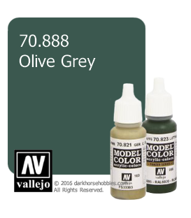 Vallejo Model Color: Olive Grey (17ml)