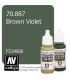 Vallejo Model Color: Brown Violet (17ml)