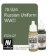 Vallejo Model Color: Russian Uniform WWII (17ml)