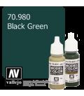 Vallejo Model Color: Black Green (17ml)