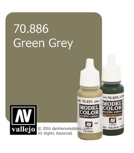 Vallejo Model Color: Green Grey (17ml)