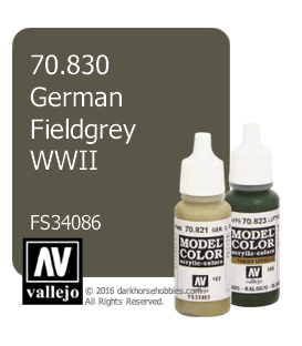 Vallejo Model Color: German Fieldgrey WWII (17ml)