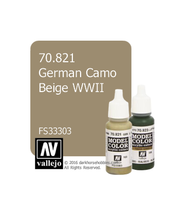 Vallejo Model Color: German Camo Beige WWII (17ml)