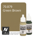 Vallejo Model Color: Green Brown (17ml)