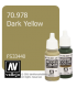 Vallejo Model Color: Dark Yellow (17ml)