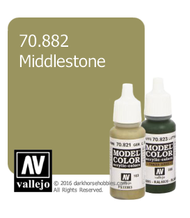 Vallejo Model Color: Middlestone (17ml)