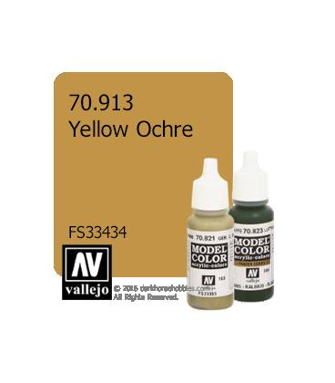 Vallejo Model Color: Yellow Ochre (17ml)