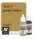 Vallejo Model Color: Desert Yellow (17ml)