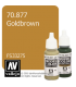 Vallejo Model Color: Gold Brown (17ml)