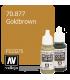 Vallejo Model Color: Gold Brown (17ml)