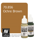 Vallejo Model Color: Ochre Brown (17ml)
