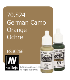 Vallejo Model Color: German Camo Orange Ochre (17ml)