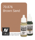 Vallejo Model Color: Brown Sand (17ml)