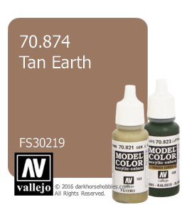 Vallejo Model Color: Tan Earth (17ml)