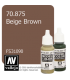 Vallejo Model Color: Beige Brown (17ml)