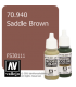 Vallejo Model Color: Saddle Brown (17ml)