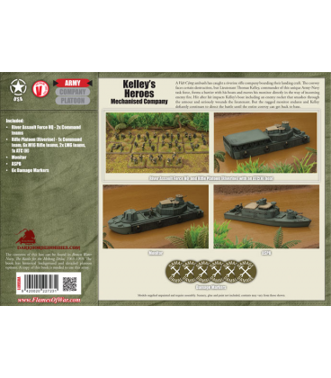 Flames of War (Vietnam): American Kelley's Heroes (Riverine Army Deal)