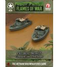 Flames of War (Vietnam): American PBR (Patrol Boat, River) (x2)