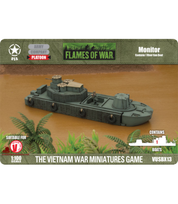 Flames of War (Vietnam): American Monitor [w/ATC(F) Zippo & CCB options]