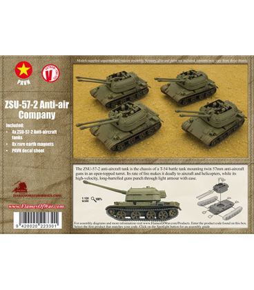 Flames of War (Vietnam): PAVN ZSU-57-2 Anti-Air Company
