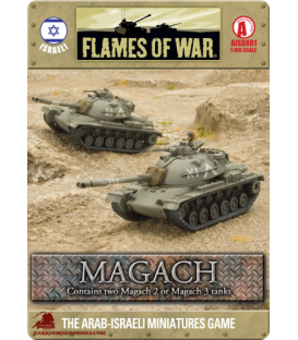 Flames Of War (Arab-Israeli): Israeli Magach Tank Section