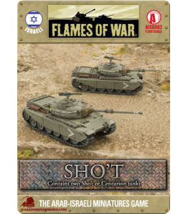 Flames Of War (Arab-Israeli): Israeli Sho't Tank Section