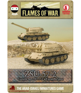 Flames Of War (Arab-Israeli): Arab ZSU-57-2 Anti-Aircraft Section