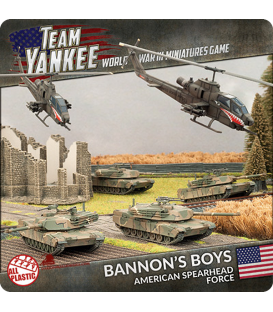 Team Yankee: (USA) Bannon's Boys (American Spearhead Force)
