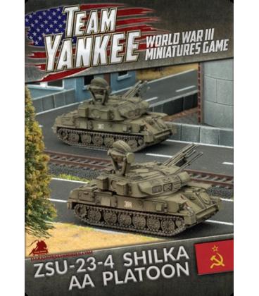 Team Yankee: (Soviet) ZSU-23-4 Shilka AA Platoon