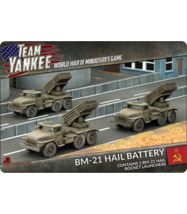 Team Yankee: (Soviet) BM-21 Hail Battery