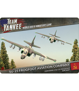 Team Yankee: (Soviet) Sukhoi SU-25 Frogfoot (Grach)