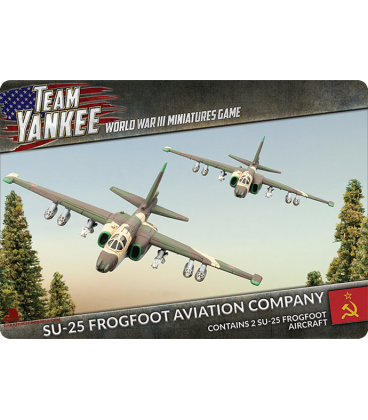 Team Yankee: (Soviet) Sukhoi SU-25 Frogfoot (Grach)