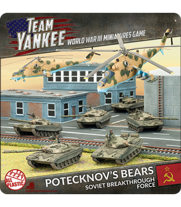 Team Yankee: (Soviet) Potecknov's Bears (Soviet Breakthrough Force)