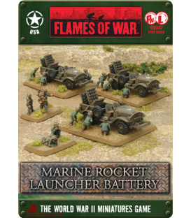 Flames of War (WWII-Pacific): American Marine Rocket Launcher Battery