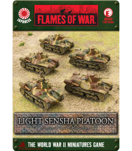 Flames of War (WWII-Pacific): Japanese Type 95 Ha-Go Platoon
