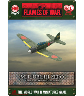 Flames of War (WWII-Pacific): Japanese Mitsubishi Zero
