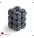 Chessex: Speckled 16mm d6 Ninja dice set (12)