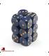 Chessex: Speckled 16mm d6 Golden Cobalt dice set (12)