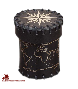 Old Sea Dog Leather Dice Cup