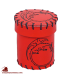 Dragon Leather Dice Cup Red