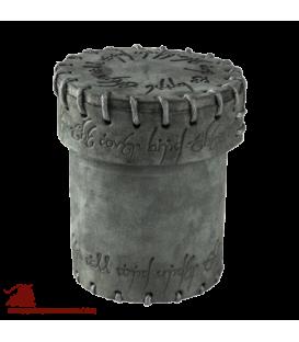 Elven Graphite Suede Dice Cup