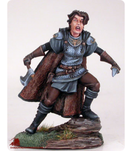 Game of Thrones: Asha Greyjoy (painted by Matt Verzani)
