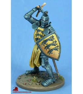 "Game of Thrones: Ser Gregor Clegane ""The Mountain"" (painted by Matt Verzani)"